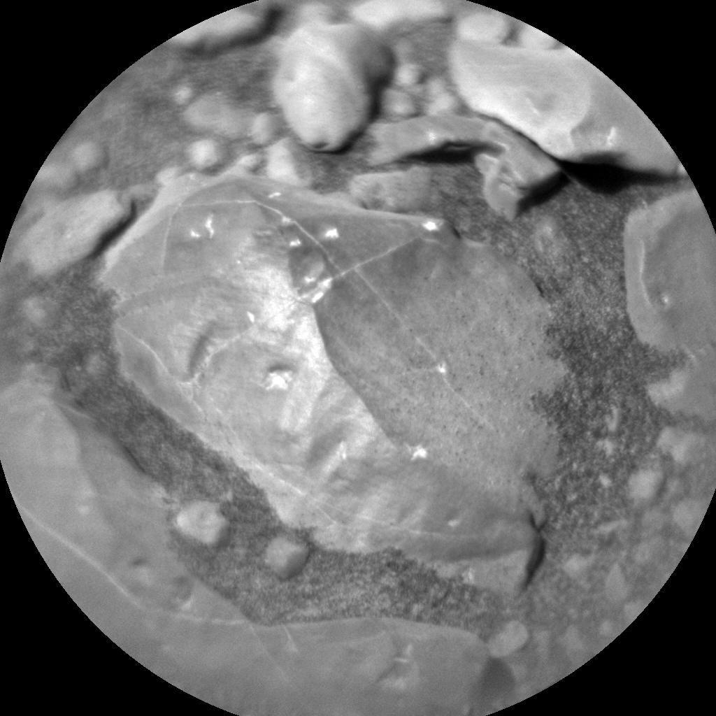 Nasa's Mars rover Curiosity acquired this image using its Chemistry & Camera (ChemCam) on Sol 1961, at drive 214, site number 68