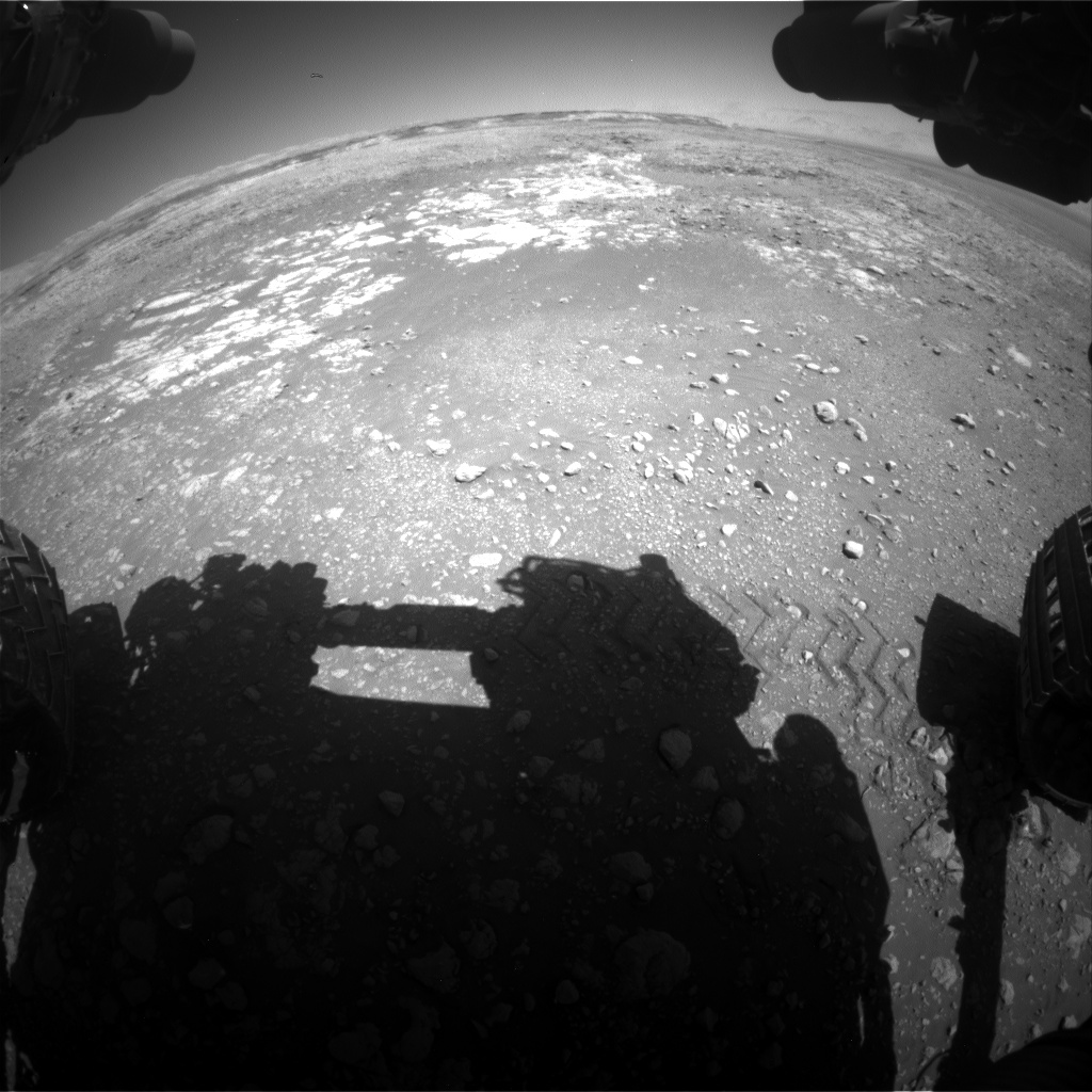 Nasa's Mars rover Curiosity acquired this image using its Front Hazard Avoidance Camera (Front Hazcam) on Sol 1962, at drive 544, site number 68