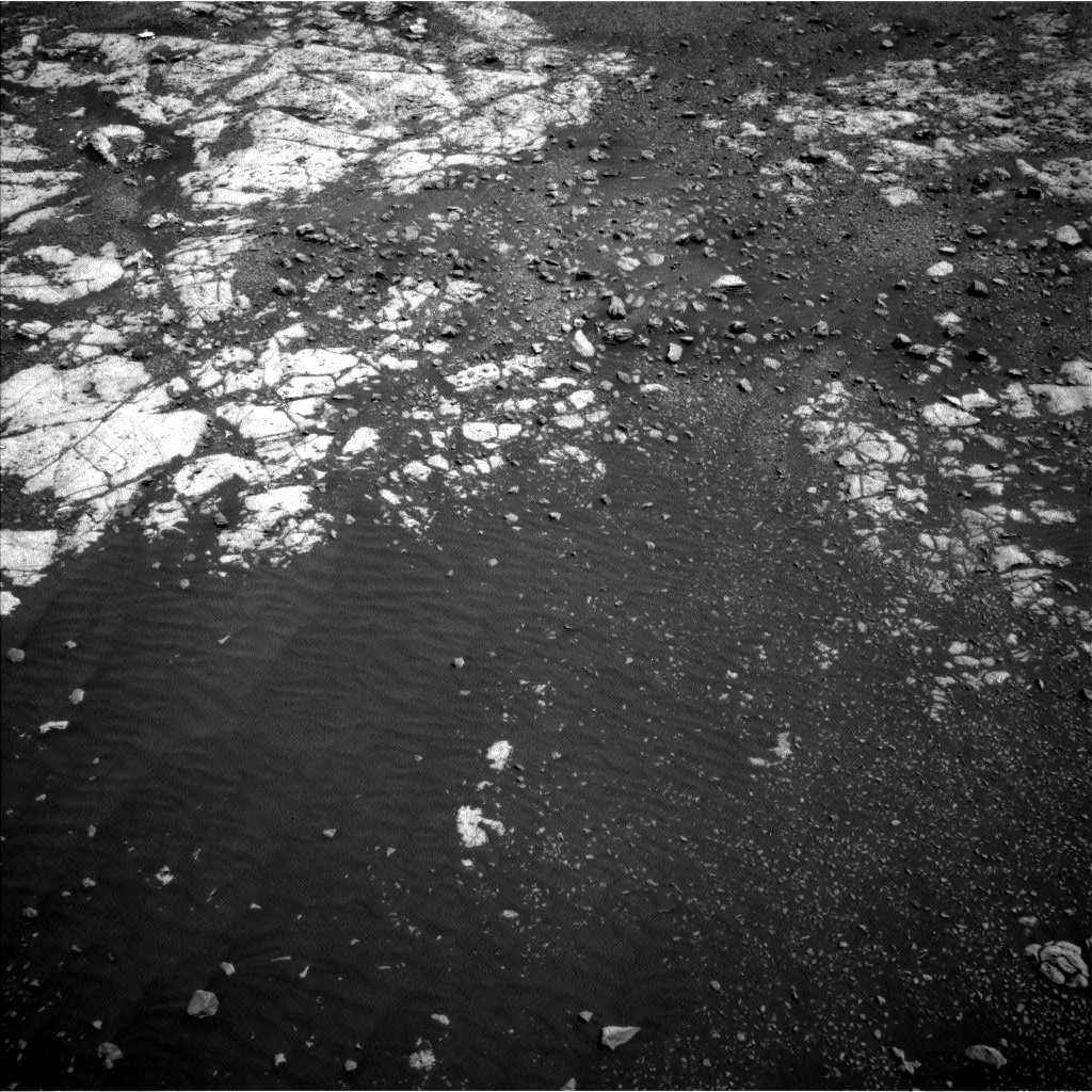 Nasa's Mars rover Curiosity acquired this image using its Left Navigation Camera on Sol 1962, at drive 550, site number 68