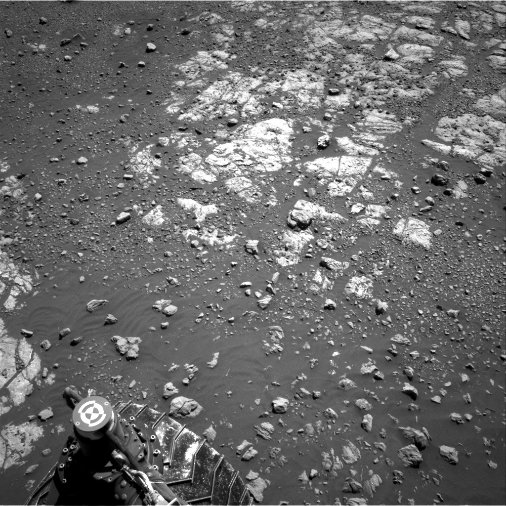 Nasa's Mars rover Curiosity acquired this image using its Right Navigation Camera on Sol 1962, at drive 580, site number 68
