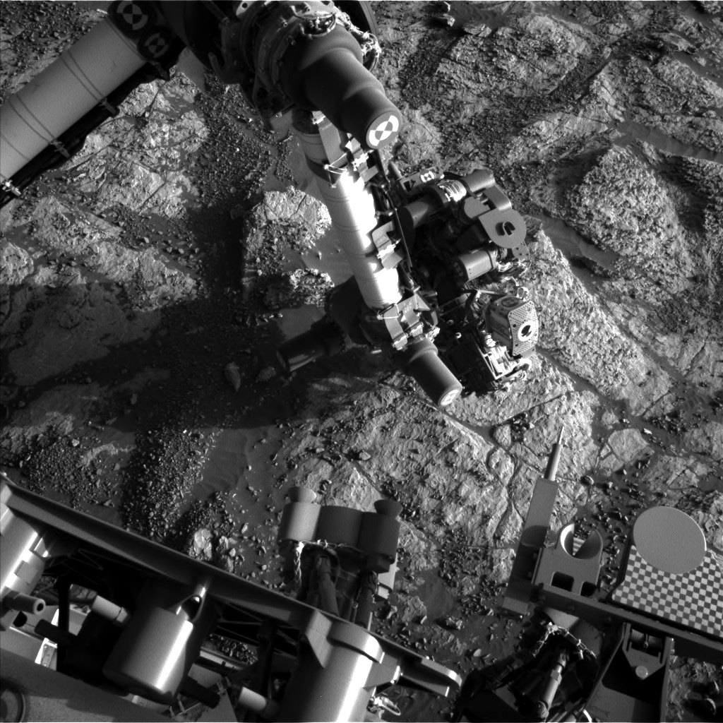 NASA's Mars rover Curiosity acquired this image using its Left Navigation Camera (Navcams) on Sol 1963