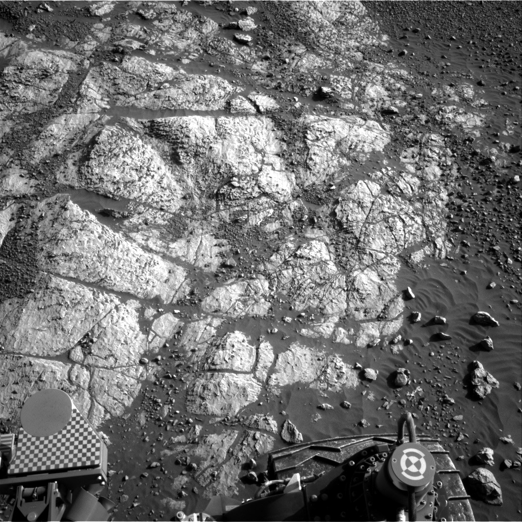 Nasa's Mars rover Curiosity acquired this image using its Right Navigation Camera on Sol 1963, at drive 580, site number 68