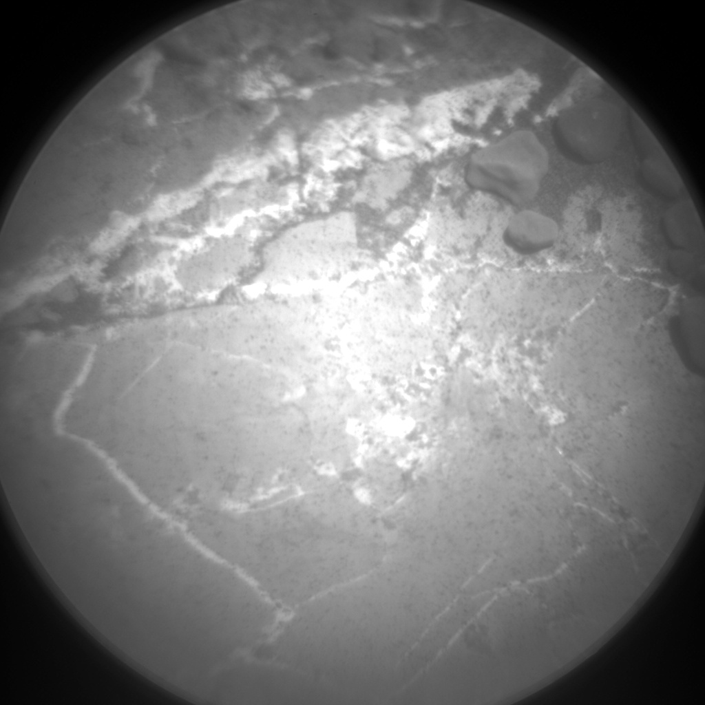 Nasa's Mars rover Curiosity acquired this image using its Chemistry & Camera (ChemCam) on Sol 1964, at drive 580, site number 68