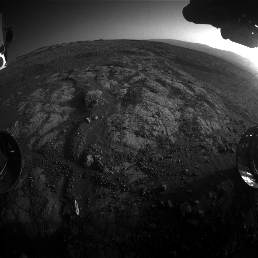 Nasa's Mars rover Curiosity acquired this image using its Front Hazard Avoidance Camera (Front Hazcam) on Sol 1964, at drive 580, site number 68