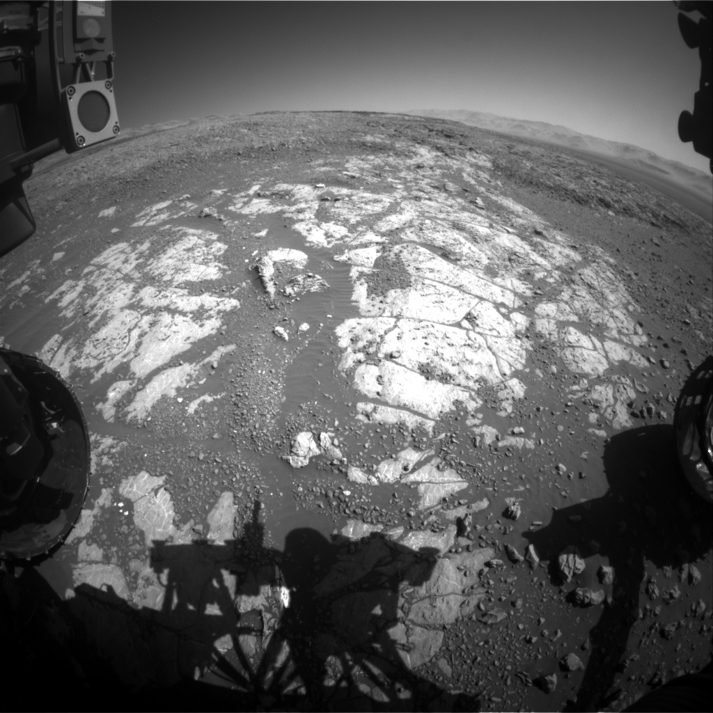 Nasa's Mars rover Curiosity acquired this image using its Front Hazard Avoidance Camera (Front Hazcam) on Sol 1965, at drive 580, site number 68