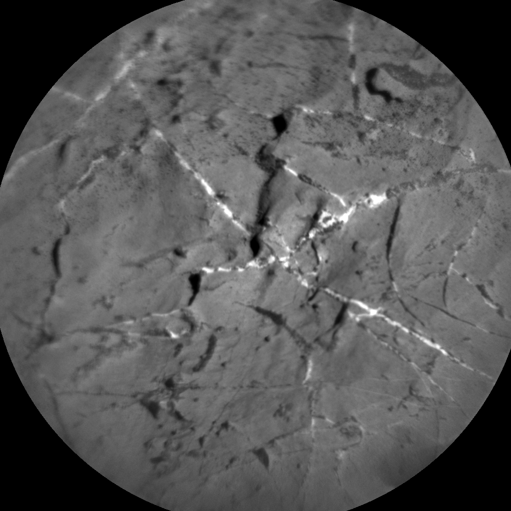 Nasa's Mars rover Curiosity acquired this image using its Chemistry & Camera (ChemCam) on Sol 1965, at drive 580, site number 68