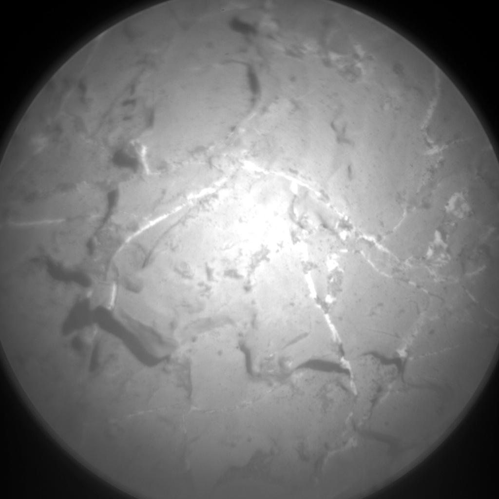 Nasa's Mars rover Curiosity acquired this image using its Chemistry & Camera (ChemCam) on Sol 1966, at drive 580, site number 68