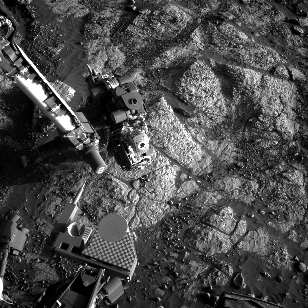 Nasa's Mars rover Curiosity acquired this image using its Right Navigation Camera on Sol 1966, at drive 580, site number 68