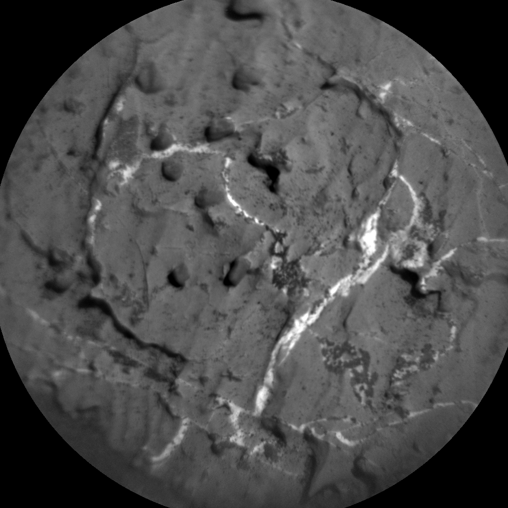 Nasa's Mars rover Curiosity acquired this image using its Chemistry & Camera (ChemCam) on Sol 1967, at drive 580, site number 68