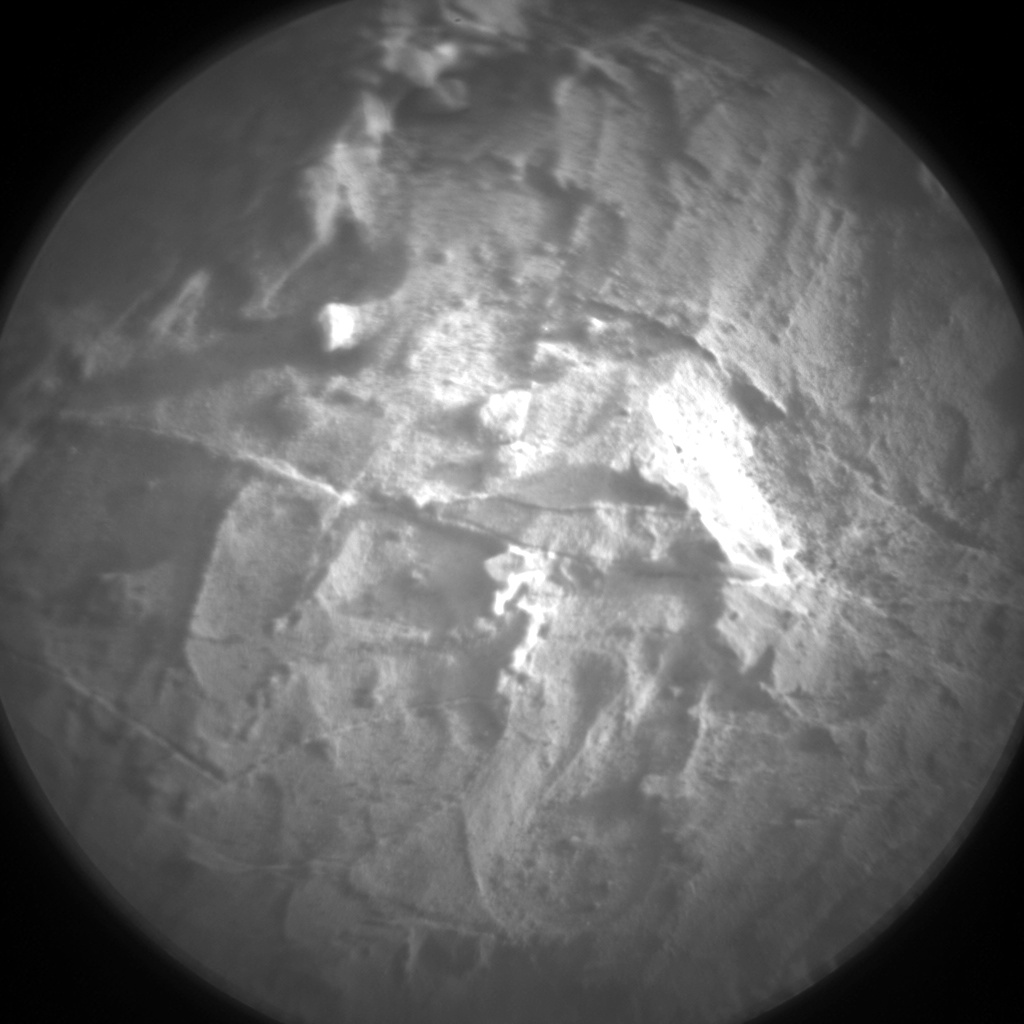 Nasa's Mars rover Curiosity acquired this image using its Chemistry & Camera (ChemCam) on Sol 1968, at drive 580, site number 68