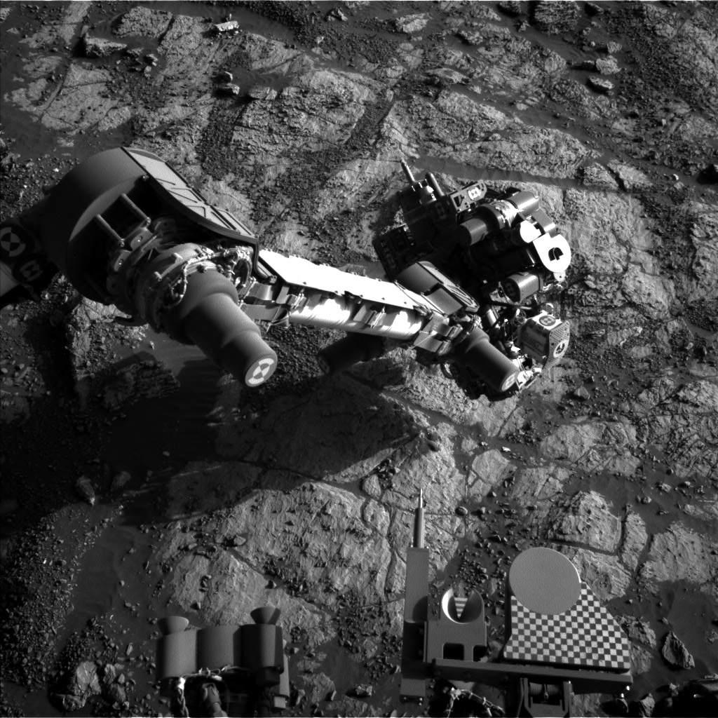 Nasa's Mars rover Curiosity acquired this image using its Left Navigation Camera on Sol 1969, at drive 580, site number 68
