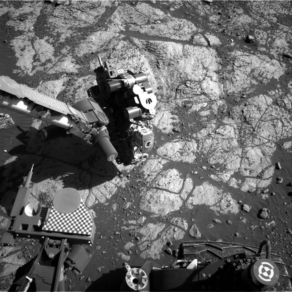 Nasa's Mars rover Curiosity acquired this image using its Right Navigation Camera on Sol 1969, at drive 580, site number 68