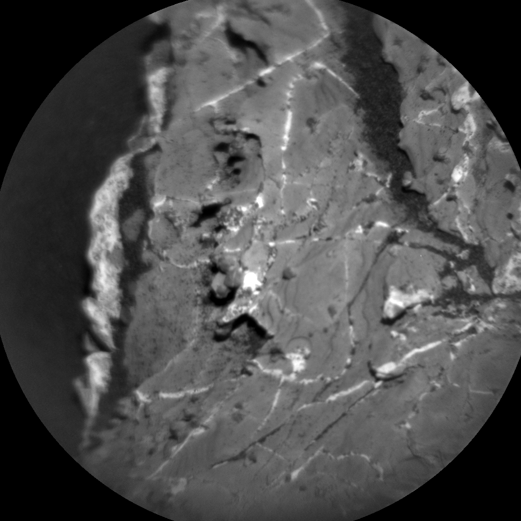 Nasa's Mars rover Curiosity acquired this image using its Chemistry & Camera (ChemCam) on Sol 1969, at drive 580, site number 68
