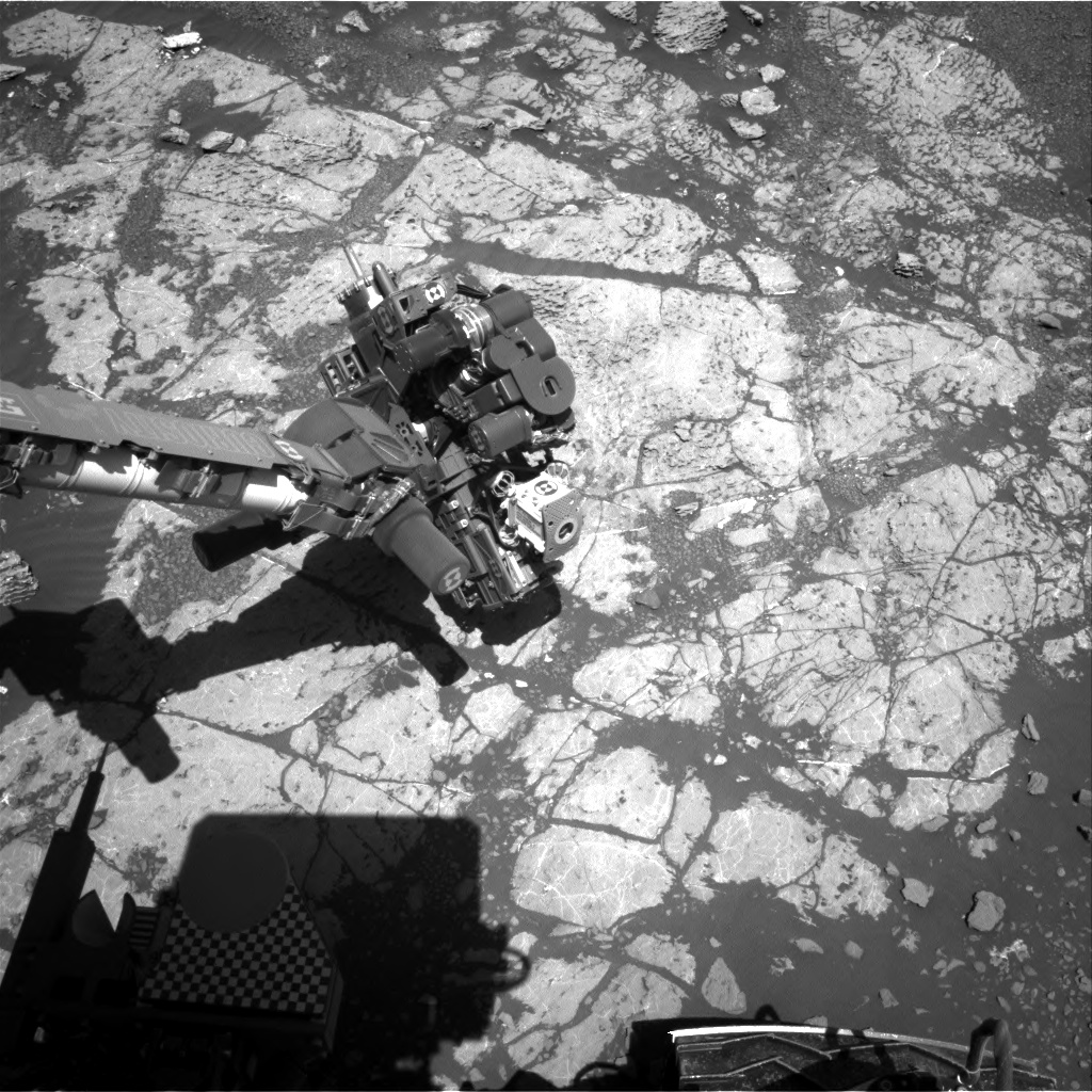 Nasa's Mars rover Curiosity acquired this image using its Right Navigation Camera on Sol 1970, at drive 580, site number 68