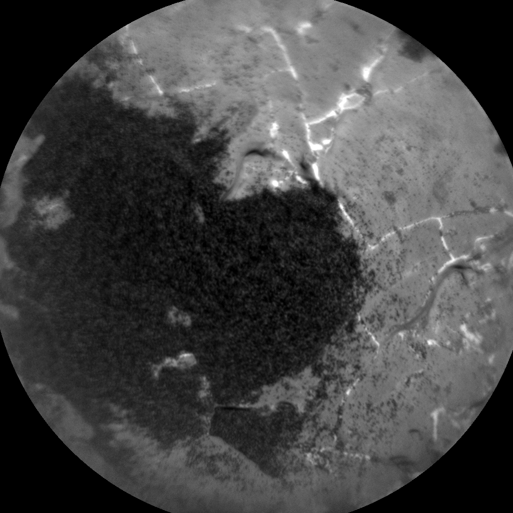 Nasa's Mars rover Curiosity acquired this image using its Chemistry & Camera (ChemCam) on Sol 1970, at drive 580, site number 68