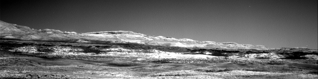 Nasa's Mars rover Curiosity acquired this image using its Right Navigation Camera on Sol 1971, at drive 580, site number 68