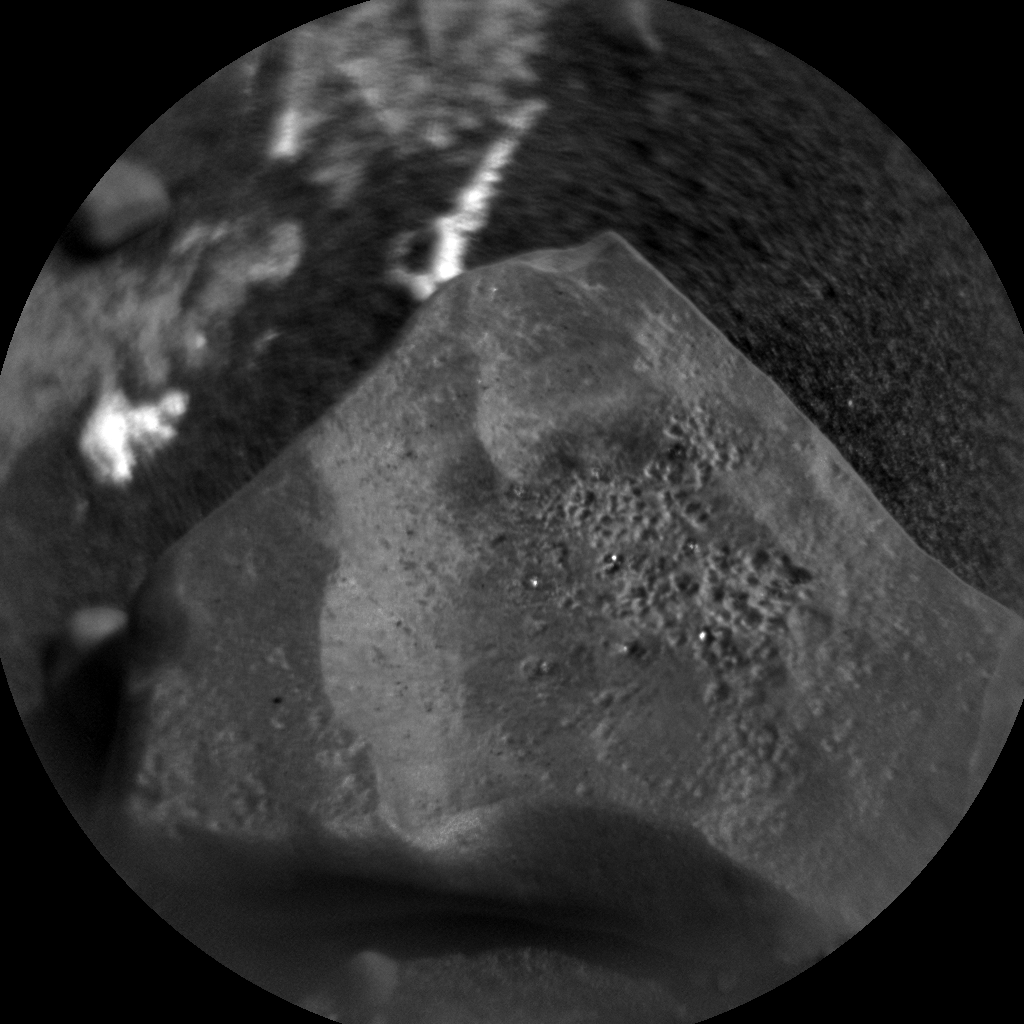 Nasa's Mars rover Curiosity acquired this image using its Chemistry & Camera (ChemCam) on Sol 1971, at drive 580, site number 68