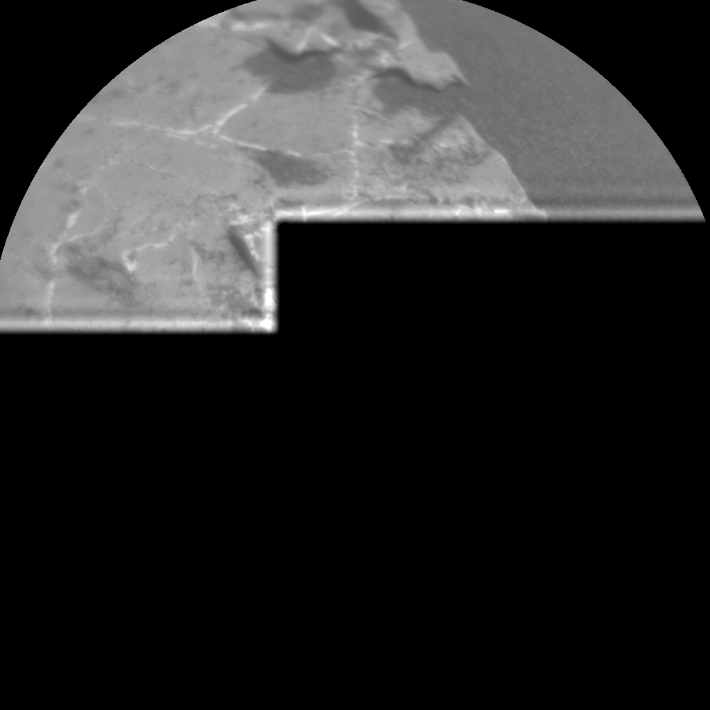 Nasa's Mars rover Curiosity acquired this image using its Chemistry & Camera (ChemCam) on Sol 1972, at drive 580, site number 68
