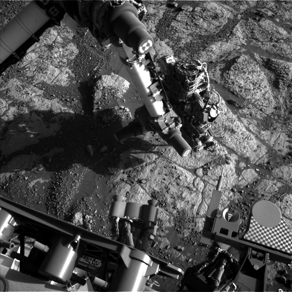 Nasa's Mars rover Curiosity acquired this image using its Left Navigation Camera on Sol 1973, at drive 580, site number 68