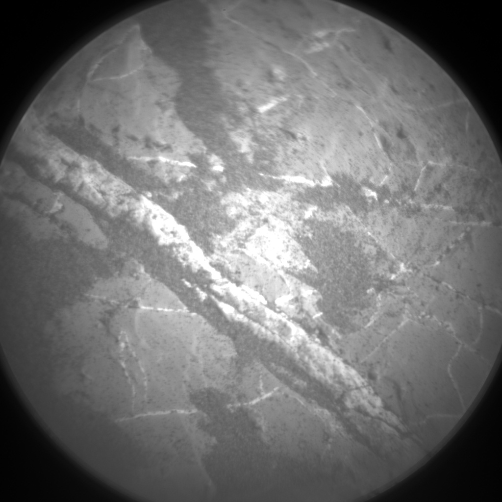 Nasa's Mars rover Curiosity acquired this image using its Chemistry & Camera (ChemCam) on Sol 1974, at drive 580, site number 68