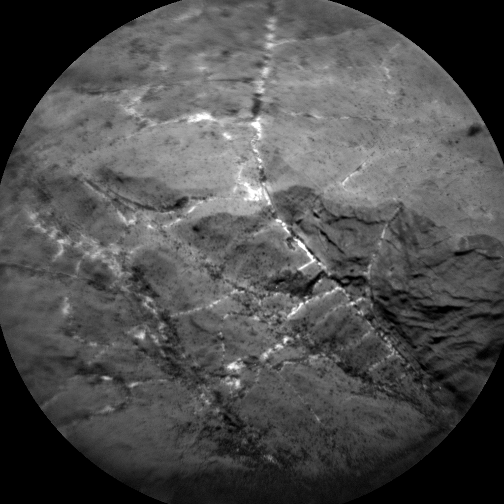 Nasa's Mars rover Curiosity acquired this image using its Chemistry & Camera (ChemCam) on Sol 1976, at drive 580, site number 68