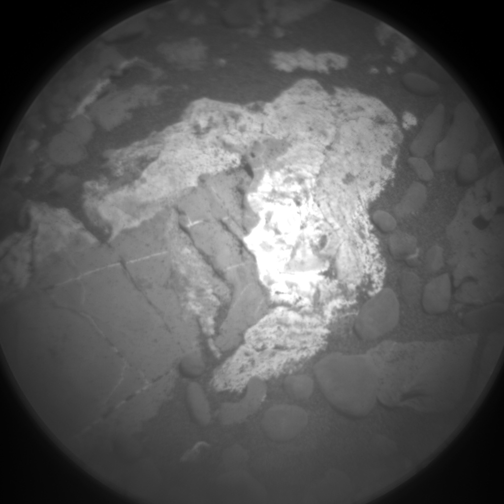 Nasa's Mars rover Curiosity acquired this image using its Chemistry & Camera (ChemCam) on Sol 1978, at drive 580, site number 68