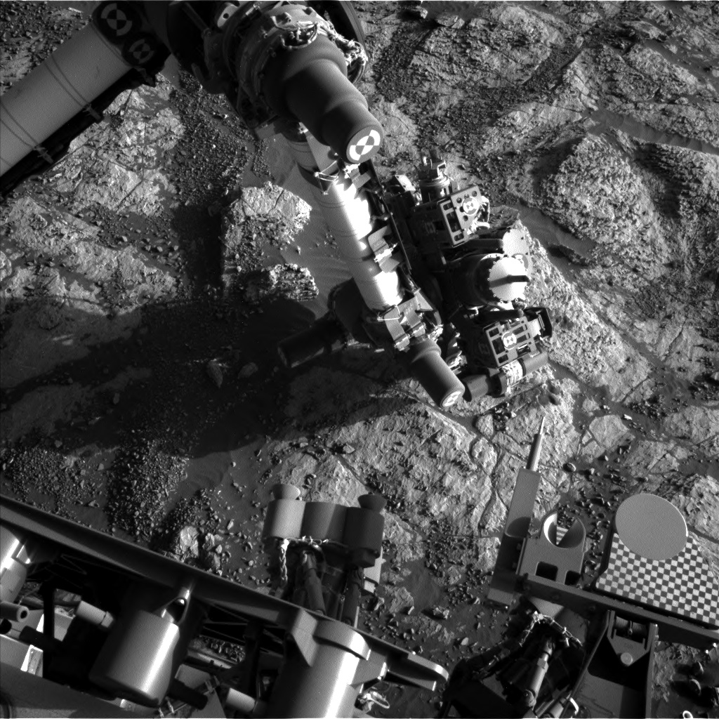 Nasa's Mars rover Curiosity acquired this image using its Left Navigation Camera on Sol 1978, at drive 580, site number 68