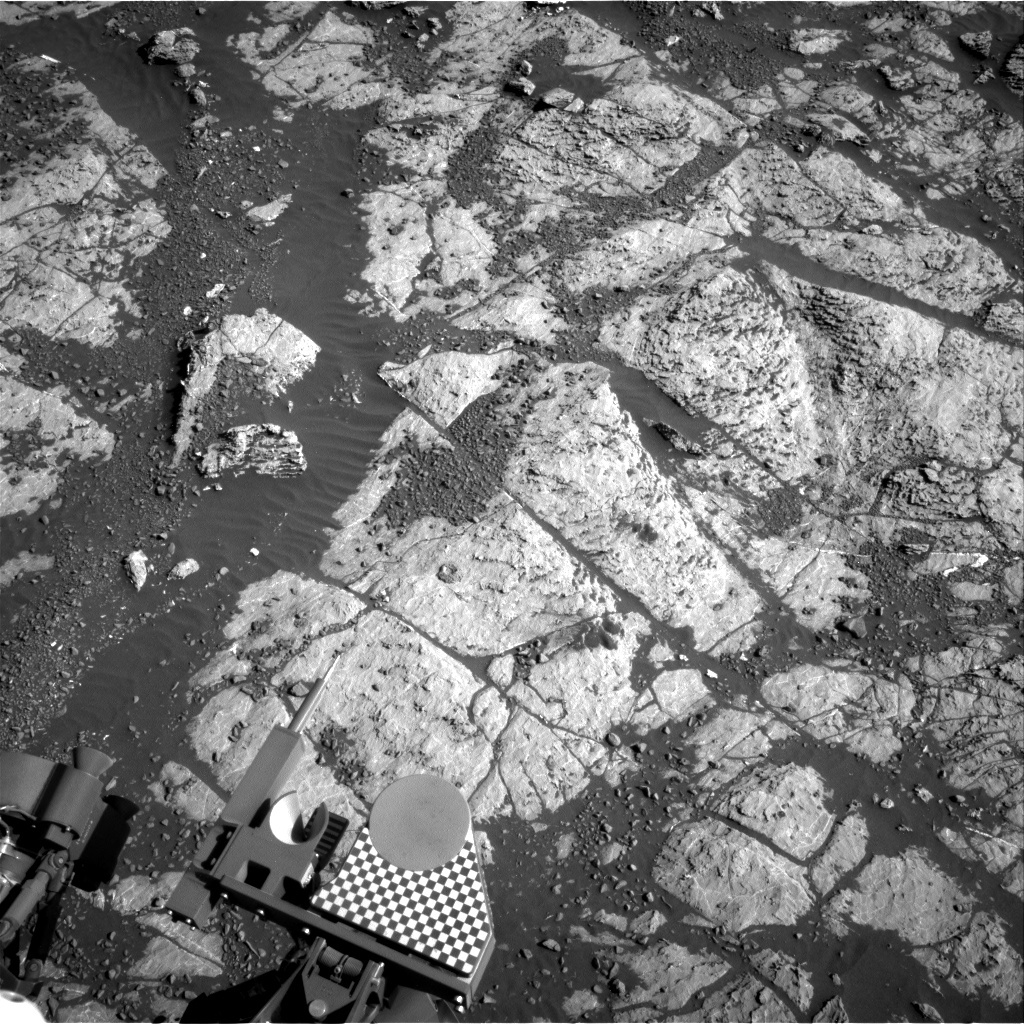 NASA's Mars rover Curiosity acquired this image using its Right Navigation Cameras (Navcams) on Sol 1979