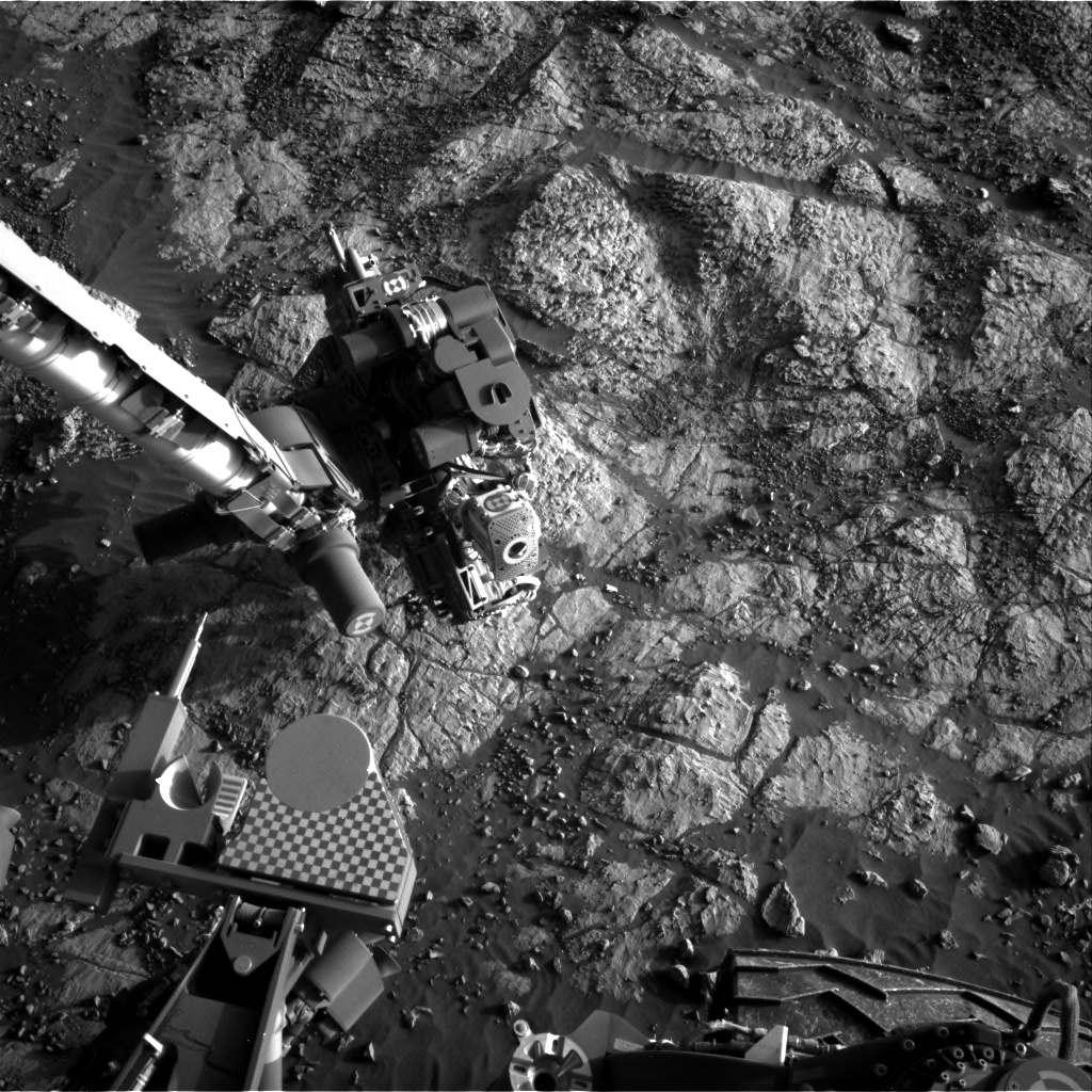 Nasa's Mars rover Curiosity acquired this image using its Right Navigation Camera on Sol 1979, at drive 580, site number 68