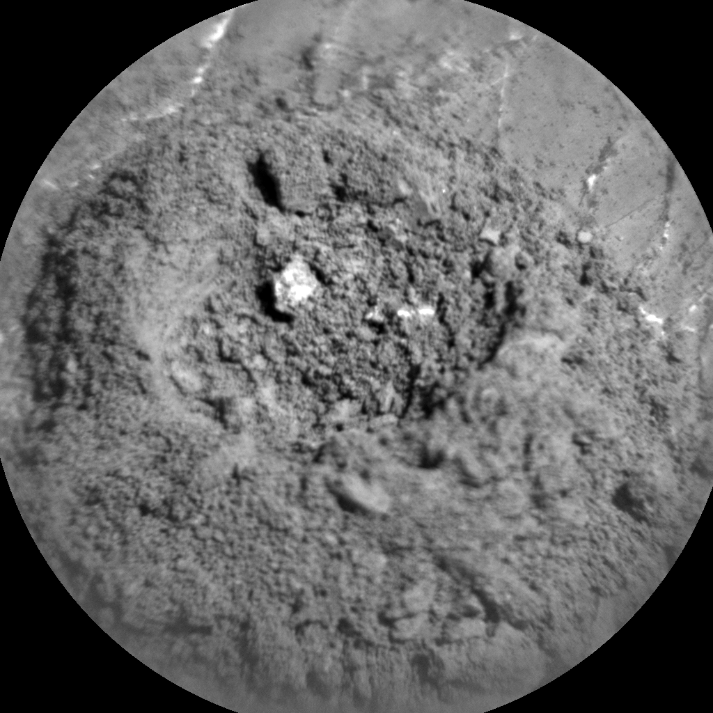 Nasa's Mars rover Curiosity acquired this image using its Chemistry & Camera (ChemCam) on Sol 1979, at drive 580, site number 68