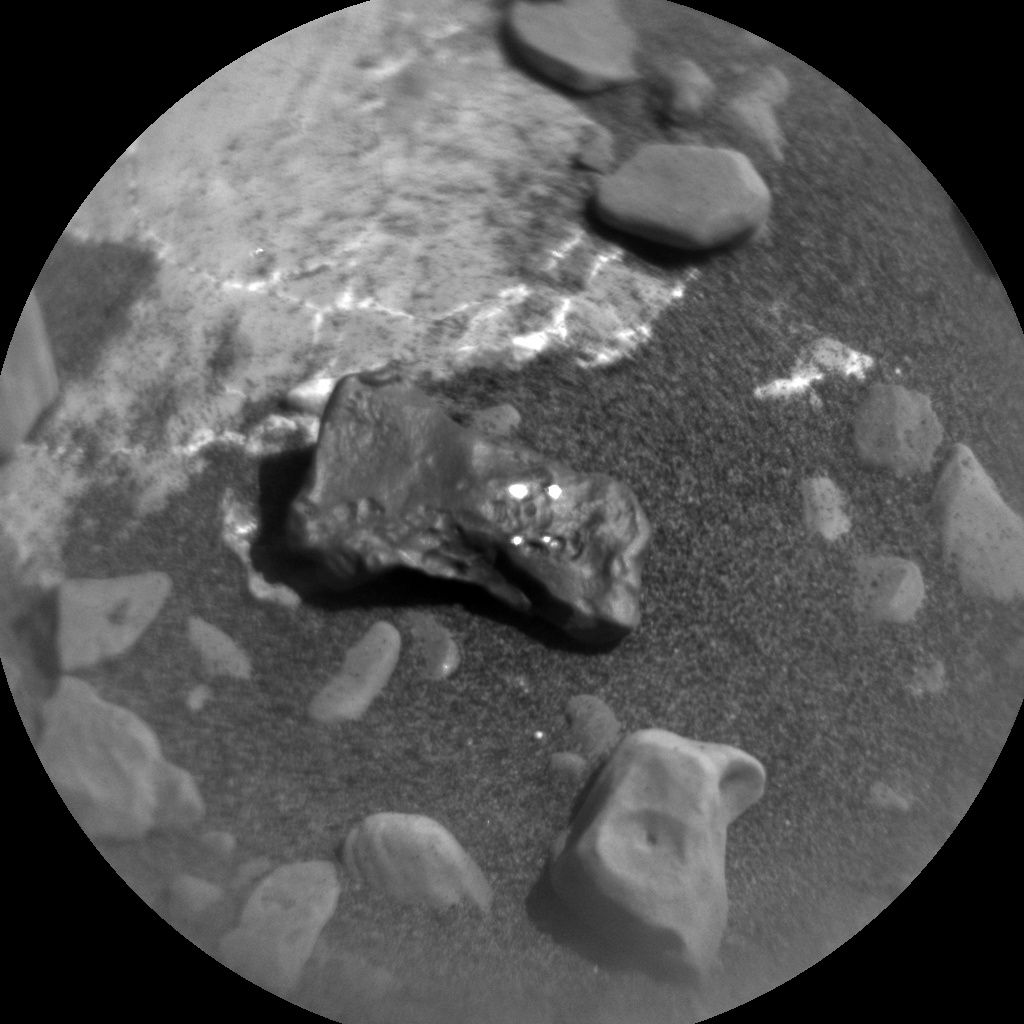 NASA's Mars rover Curiosity acquired this image using its Chemistry & Camera (ChemCam) on Sol 1981