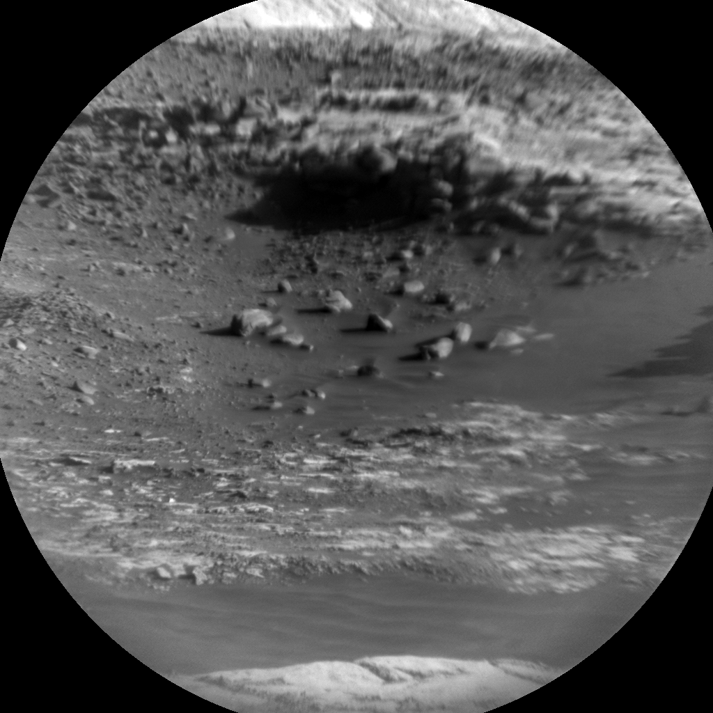 Nasa's Mars rover Curiosity acquired this image using its Chemistry & Camera (ChemCam) on Sol 1981, at drive 580, site number 68