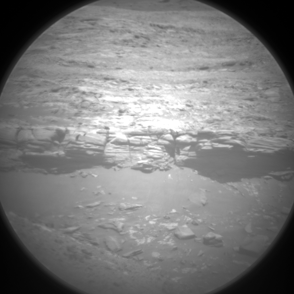 Nasa's Mars rover Curiosity acquired this image using its Chemistry & Camera (ChemCam) on Sol 1984, at drive 580, site number 68