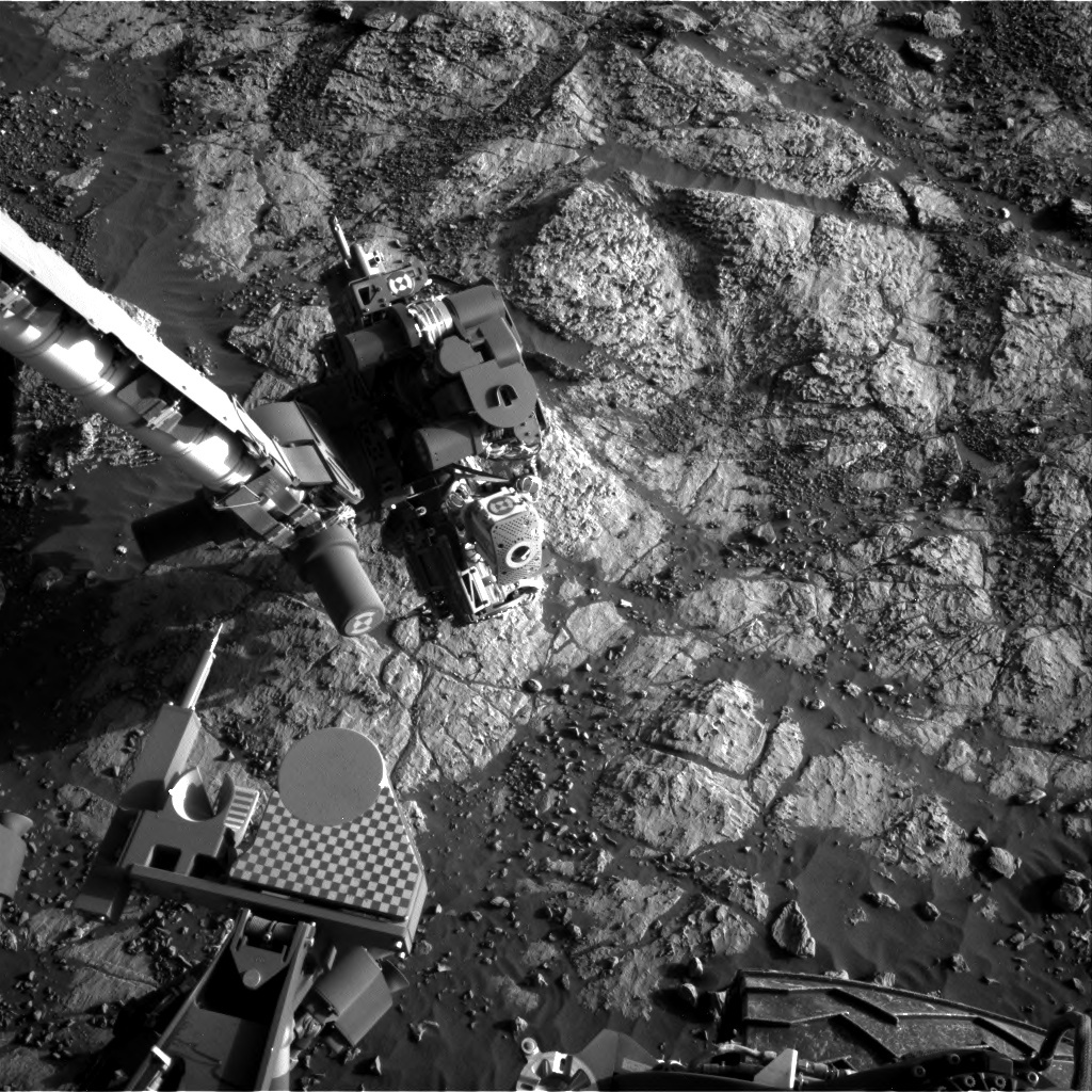 NASA's Mars rover Curiosity acquired this image using its Right Navigation Cameras (Navcams) on Sol 1984