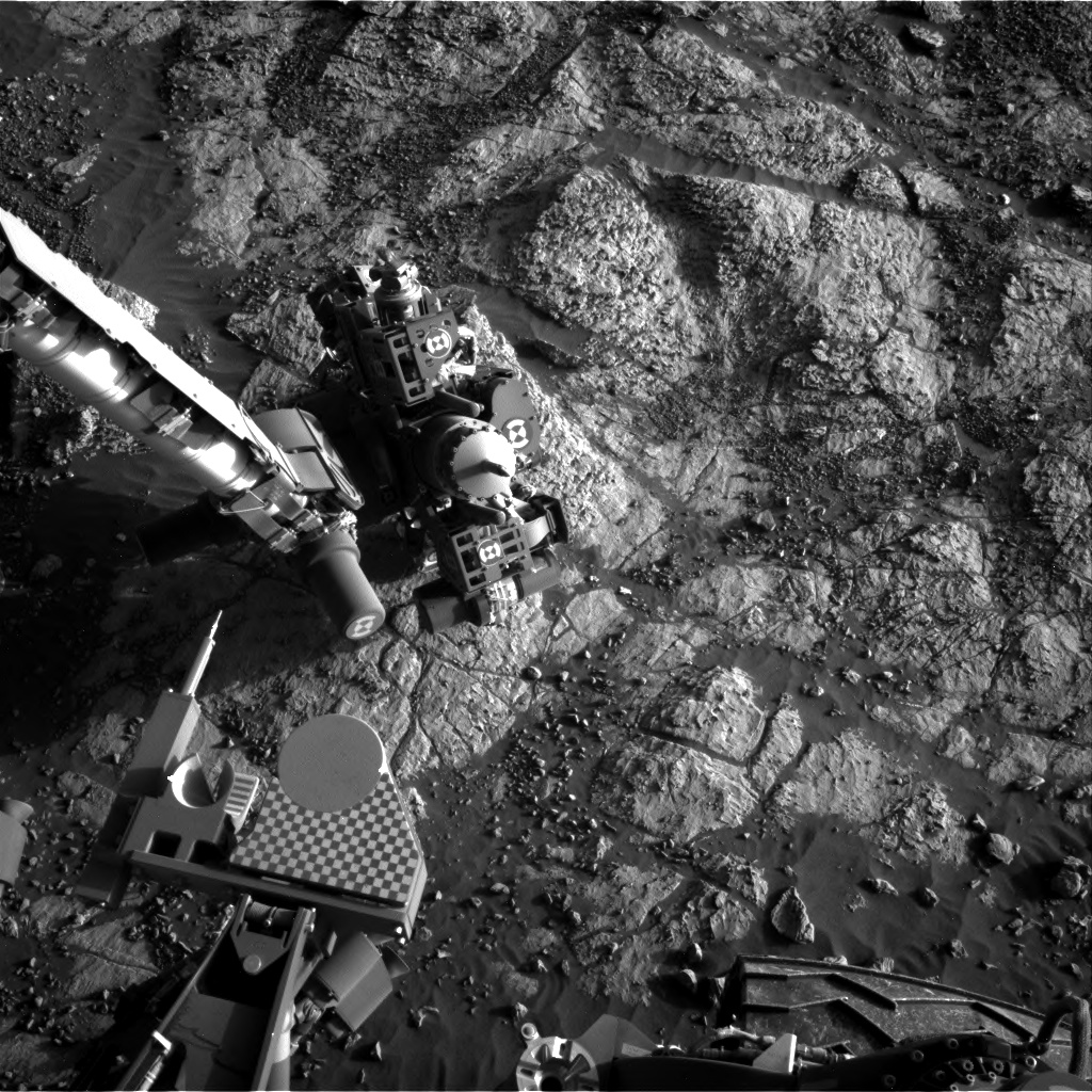 Nasa's Mars rover Curiosity acquired this image using its Right Navigation Camera on Sol 1984, at drive 580, site number 68