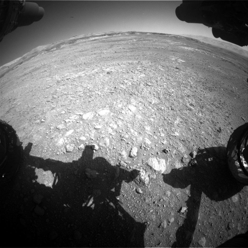 Nasa's Mars rover Curiosity acquired this image using its Front Hazard Avoidance Camera (Front Hazcam) on Sol 1985, at drive 772, site number 68