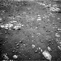Nasa's Mars rover Curiosity acquired this image using its Left Navigation Camera on Sol 1985, at drive 610, site number 68