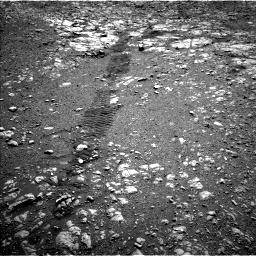 Nasa's Mars rover Curiosity acquired this image using its Left Navigation Camera on Sol 1985, at drive 628, site number 68