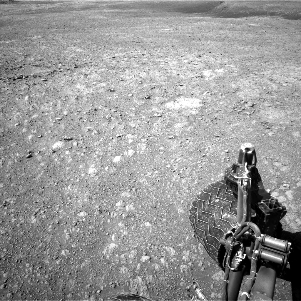Nasa's Mars rover Curiosity acquired this image using its Left Navigation Camera on Sol 1985, at drive 736, site number 68