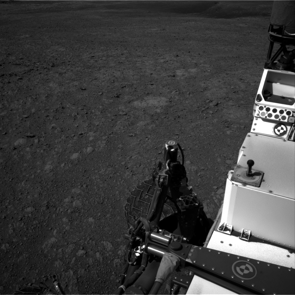 Nasa's Mars rover Curiosity acquired this image using its Right Navigation Camera on Sol 1985, at drive 736, site number 68
