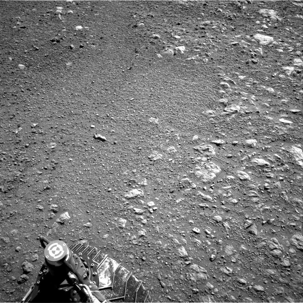 Nasa's Mars rover Curiosity acquired this image using its Right Navigation Camera on Sol 1985, at drive 772, site number 68