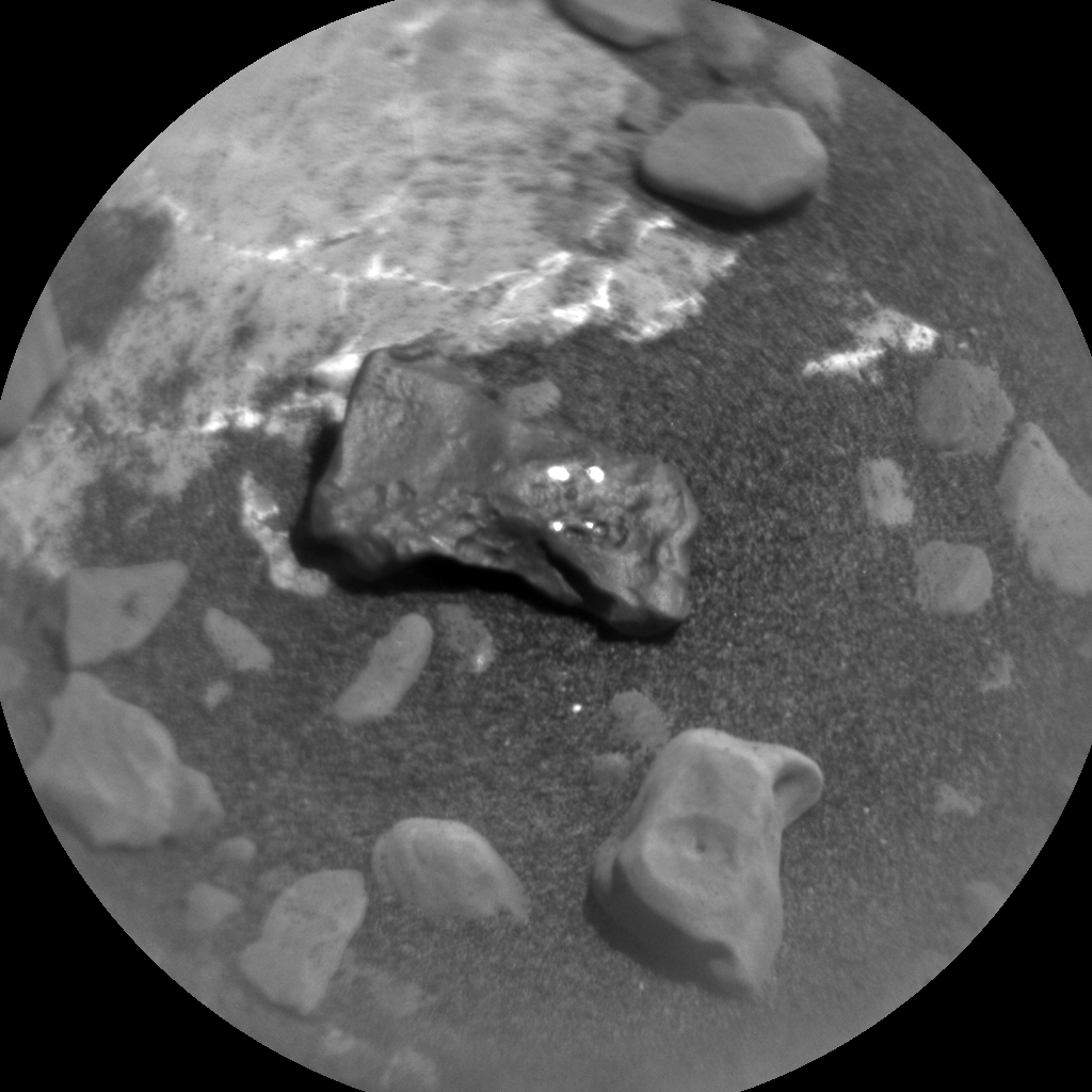 Nasa's Mars rover Curiosity acquired this image using its Chemistry & Camera (ChemCam) on Sol 1985, at drive 580, site number 68