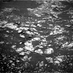 Nasa's Mars rover Curiosity acquired this image using its Left Navigation Camera on Sol 1986, at drive 838, site number 68
