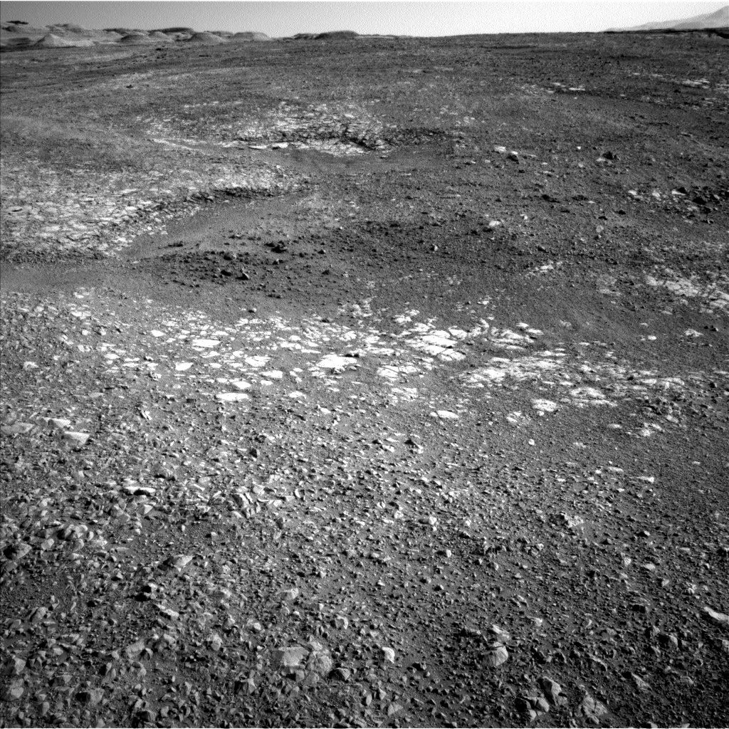 NASA's Mars rover Curiosity acquired this image using its Left Navigation Camera (Navcams) on Sol 1986
