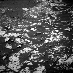 Nasa's Mars rover Curiosity acquired this image using its Right Navigation Camera on Sol 1986, at drive 844, site number 68