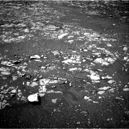 Nasa's Mars rover Curiosity acquired this image using its Right Navigation Camera on Sol 1986, at drive 1012, site number 68