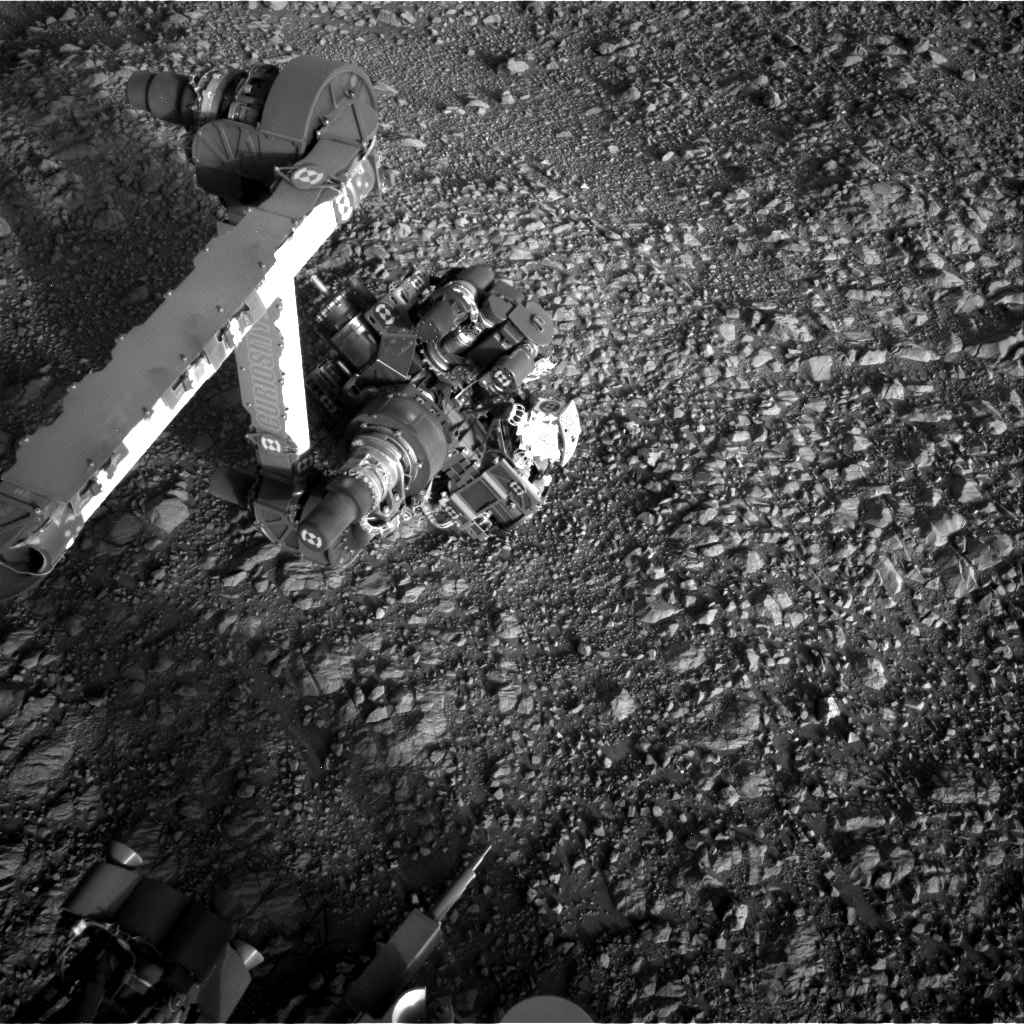 Nasa's Mars rover Curiosity acquired this image using its Right Navigation Camera on Sol 1988, at drive 1232, site number 68
