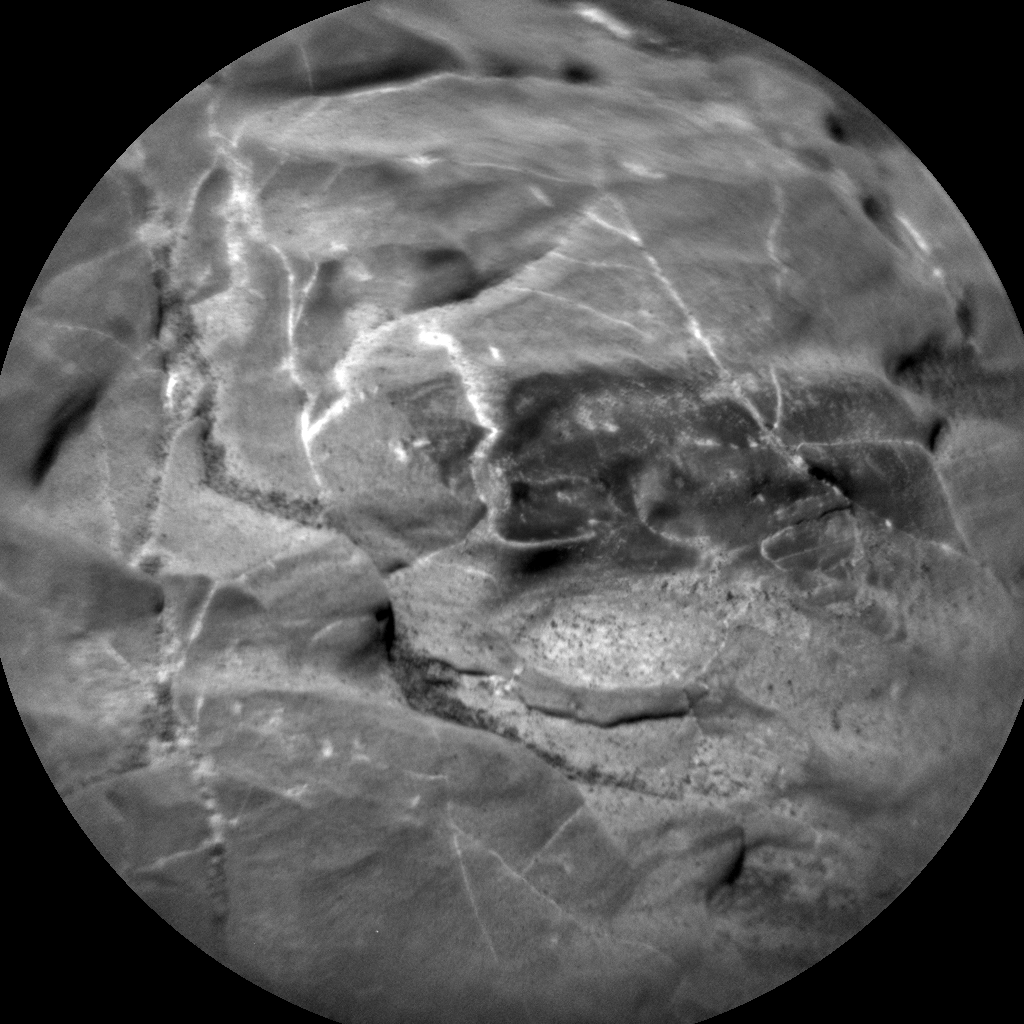 Nasa's Mars rover Curiosity acquired this image using its Chemistry & Camera (ChemCam) on Sol 1988, at drive 1232, site number 68