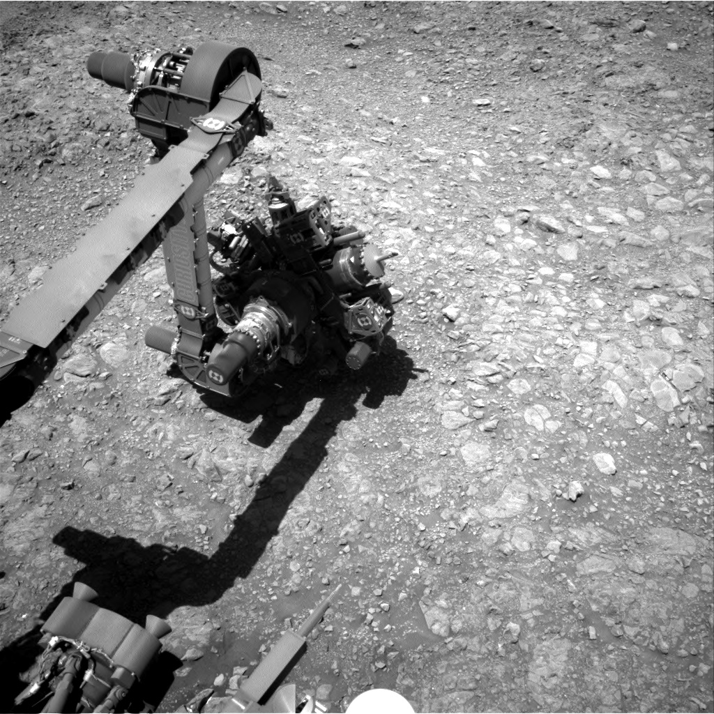 Nasa's Mars rover Curiosity acquired this image using its Right Navigation Camera on Sol 1989, at drive 1232, site number 68