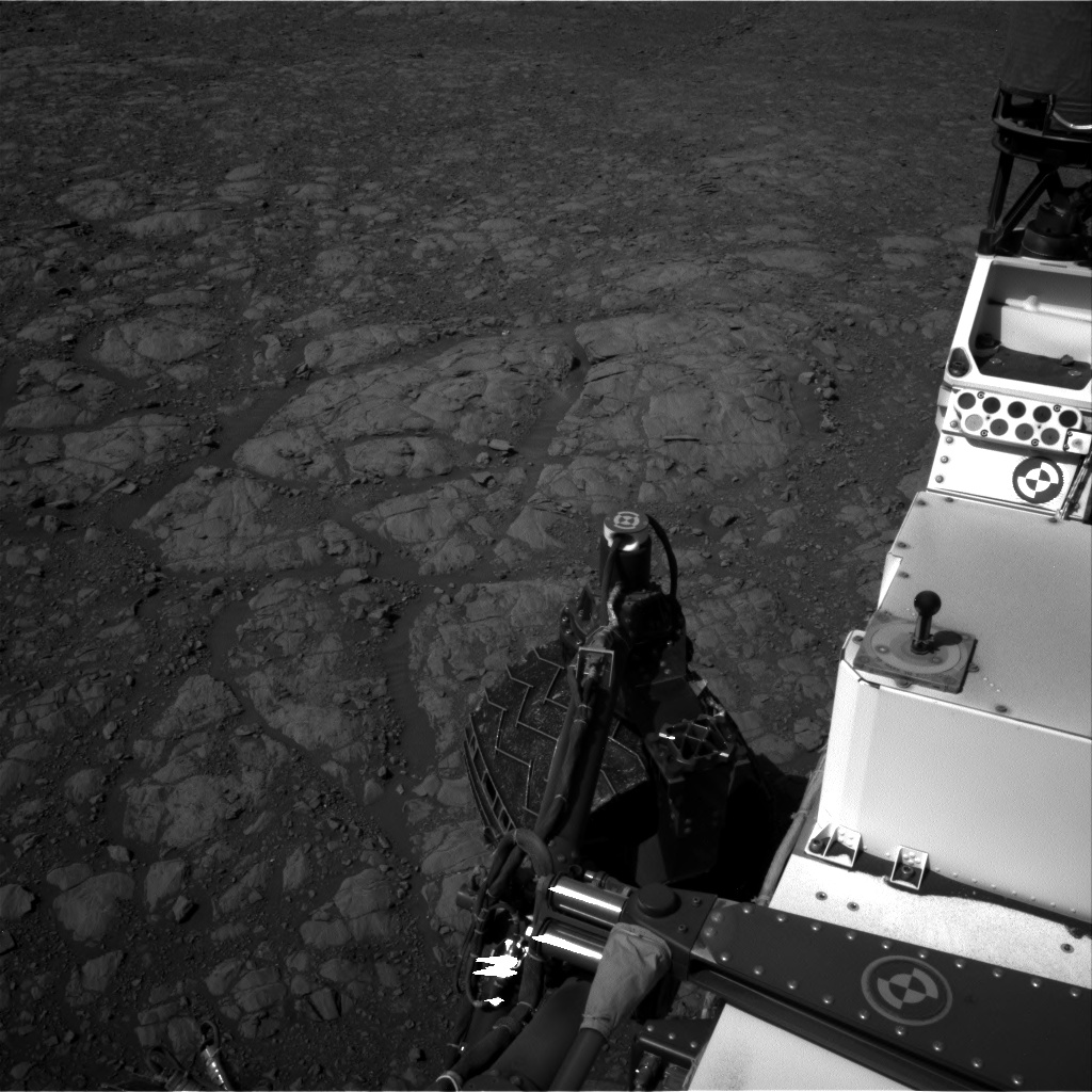 Nasa's Mars rover Curiosity acquired this image using its Right Navigation Camera on Sol 1989, at drive 1556, site number 68